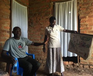 CTPH use community health workers to provide health outreach linked with conservation messages