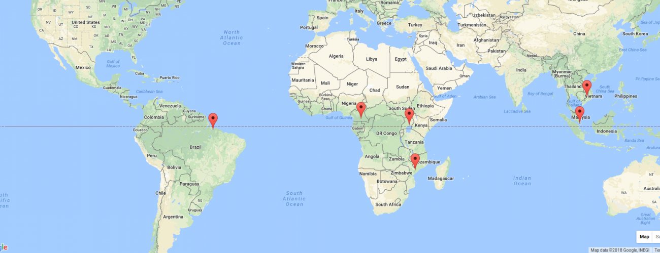 Iccs Project location Map